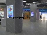 El bastidor de cristal acrílico publicidad el bastidor de montaje en pared