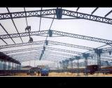 Estructura de acero prefabricados almacén o taller con estructura de techo metálico