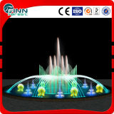 6 m de diamètre Outdoor Music LED Underlight Water Garden Fountain