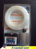 Пластиковый Оптоволоконный DIY светодиодной подсветки RGB комплекты комплекты для оптического волокна