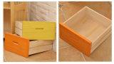 Armário de gavetas de madeira sólida de Cabeceira moderna (M-X2077)