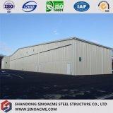 Hangar d'avions de bâti en acier de qualité