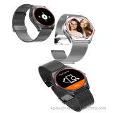 円形のタッチ画面のスマートな腕時計の電話(N3)