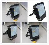 Projector ao ar livre do diodo emissor de luz do diodo emissor de luz 100W do poder superior IP65