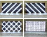 Sinal impermeável da loja do brilho elevado da matriz ao ar livre branca do módulo 32X16 do indicador do diodo emissor de luz P10 para o texto do desdobramento