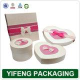 Sur papier rose boîte cadeau de mariage (FJ-278)
