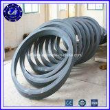 継ぎ目が無い転送された鋼鉄リングの大口径ベアリング炭素鋼の鍛造材のリング