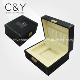 Cadre de montre en bois noir avec le GV