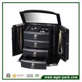 Роскошная оптовая деревянная коробка хранения jewellery