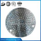 Coperchi di botola duttili chiudibili a chiave di accesso del ferro En124 in getto & forgiati