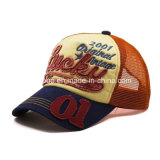 Kundenspezifischer Baumwollstickerei-Form-Baseball-Hut