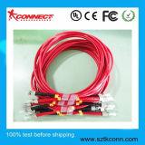 Cable de conexión de fibra óptica ST Mm Simpex -Duplex