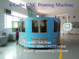 6개의 색깔 큰 크기 플라스틱 병 스크린 인쇄 기계