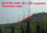 Torretta della trasmissione della sospensione di Megatro 220kv 2e11 Szk