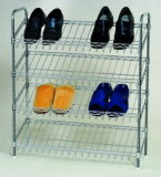 4 صفّ قابل للتعديل كروم [سلنتد] حذاء من