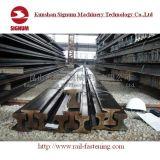 Rotaie d'acciaio per le ferrovie e le gru