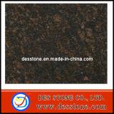 Pulido de granito marrón bronceado encimera de losa de granito baldosas