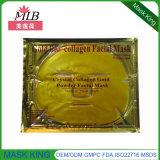 Máscara facial de colágeno de ouro 24k feita na China