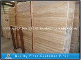 목욕탕 지면 또는 벽 도와를 위한 자연적인 베이지색 대리석 돌 석회화