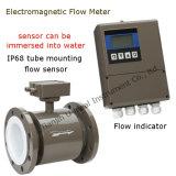高精度な分割リモート、オールインワン情報処理機能をもった電磁石の水流のメートル