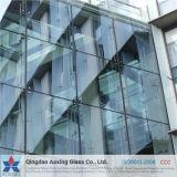 Temperado triplo/claro plano temperado vidro isolante para construir