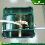 Puder-überzogene quadratische Aluminiumtennis-Pfosten (TP-4000G)