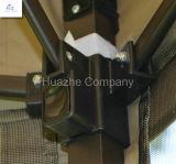 1,8 m Steel 6 Edge Shape Gazebo dobrável Gazebo dobrável Pop up Tent Easy Up Gazebo with Mosquito Net