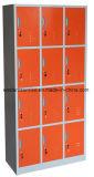 12 de Kast van de Opslag van het Staal van de Compartimenten van de deur