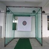 순수한 골프를 잘게 써는 골프 사격 연습은 매트를 실행한다