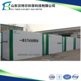 Linha de lavagem de vegetais e frutas Estação de tratamento de águas residuais