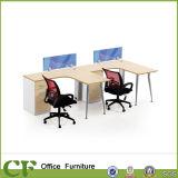 キャビネットが付いている粉のコーティングフレームのオフィスの管理の机