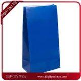 Euro sac stratifié mat de cadeau de papier d'emballage, sac de papier de cadeau personnalisé par pliage de couleur, logo d'impression de sac de papier d'achats