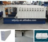 Tianyiの移動式鋳造物のセメント機械EPS MGOサンドイッチパネル