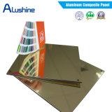 el panel compuesto 4m m de aluminio ACP (1220mm*2440mm/4'by 8 de 2m m 3m m ')