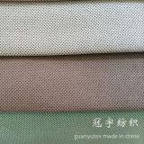 Tissu court de sofa de velours côtelé de pile de capitonnage