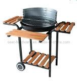 BBQ del carbone di legna di alta qualità con la rotella (SE-5624)