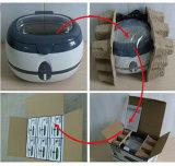 Pulitore ultrasonico con il cestino di pulizia