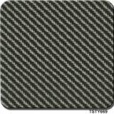 Vente Hotting Tsautop 0,5 m/1m de largeur en fibre de carbone Films d'impression Transfert d'eau Aqua Tsty hydrographiques d'impression Film669