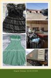 2016 neuestes und modernes verwendetes Chiffon- Kleid mit Grad, den eine Qualität darstellt u. Fotos (FCD-002)