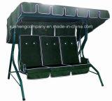 Qualitäts-einfacher Entwurf 3 Seater Garten-Schwingen-Stuhl