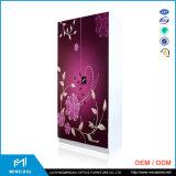 China maakte tot Vervaardiging 2 de Garderobe van het Staal van het Meubilair van de Slaapkamer van het Metaal van de Deur