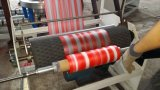 PE/PP doppelter Farben-Streifen-Plastikfilm-durchbrennenmaschine
