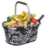 Poignée en aluminium pliable pliable Carry Basket