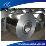 Bobinas laminadas material de construção do aço do cilindro