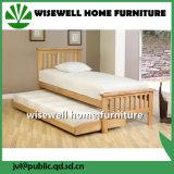 Кровать твердой мебели древесины сосенки складывая для порыва ветра