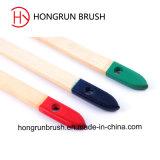 A largo mango de madera cepillo del radiador (HYRA0243)