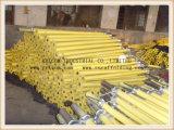 Puntello registrabile di puntellamenti dell'armatura d'acciaio resistente