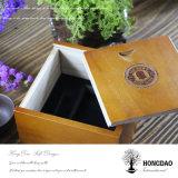 Caixa de armazenamento de madeira sólida personalizada Hongdao Gift Box_D