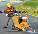 Empujar el suelo concreto del camino manualmente del surco vio la cortadora Gyc-120