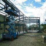 Estructura de acero de metal ligero Estructura prefabricada de edificios modulares de plástico